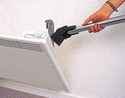Električni radiator: čiščenje