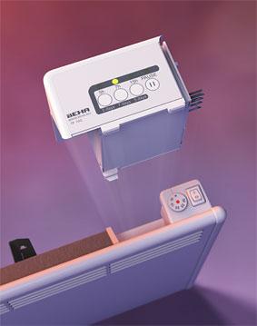 Štedni modul TP100, ugradnja uz elektronski termostat
